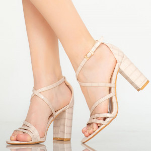 Sandale dama Silas bej
