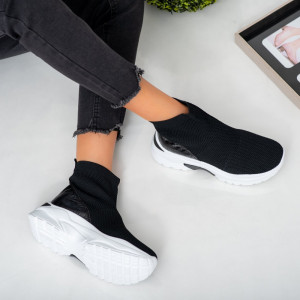 Sneakersi lady Lyn μαύρο