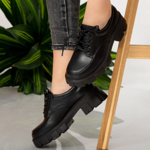 Taw black casual shoes