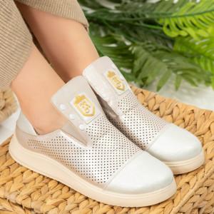 Tay ezüst női cipő