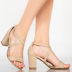 Women's sandals Vave aurii