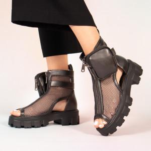 Καλοκαιρινές μπότες από γκρι πεύκο