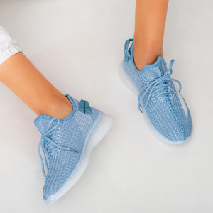 Adidasi dama Larry albastri