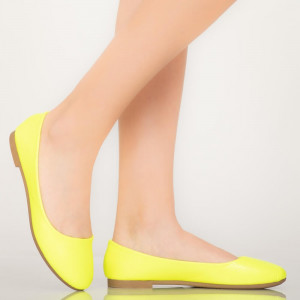 Bart sárga alkalmi cipő