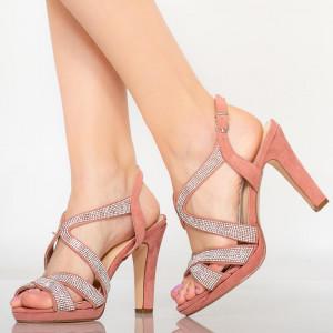 Cona pink women's sandals