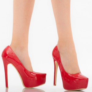 Kayla red women's shoes