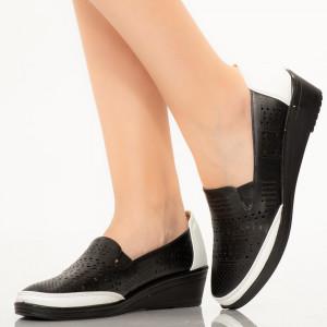 Pantofi dama Cosa albi