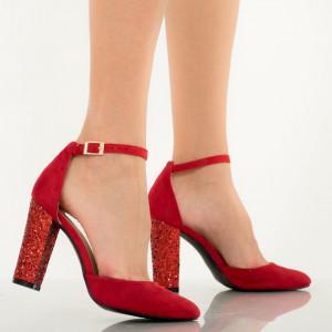 Pantofi dama Donis rosii