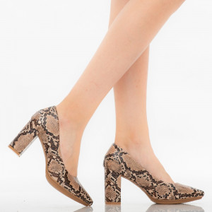 Pantofi dama Fadi snake
