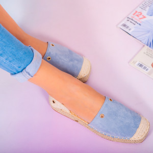 Pantofi dama Heno albastri