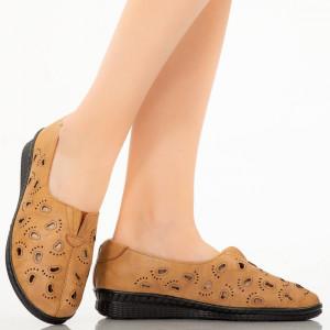 Pantofi dama Lule camel