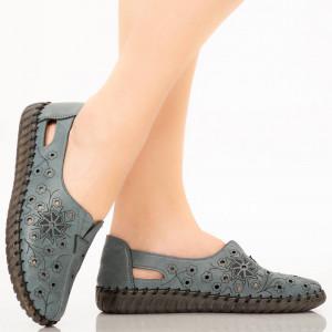 Pantofi dama Mirar albastri