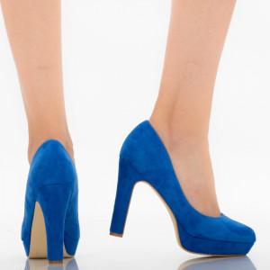 Pantofi dama Shamia albastri