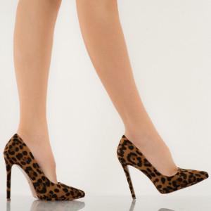 Pantofi dama Ulysa leopard