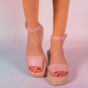 Platforme dama Movu roz
