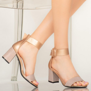 Sandale dama Aria roze