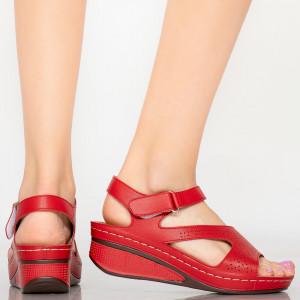 Sandale dama Buica rosii