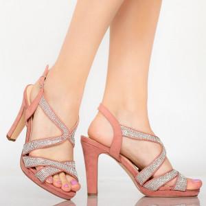 Sandale dama Cona roz