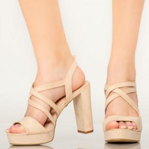 Sandale dama Digo bej