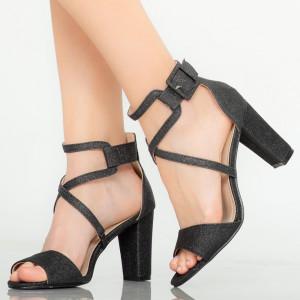 Sandale dama Echo negre