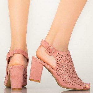 Sandale dama Hefe roz