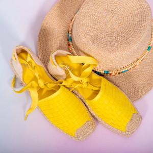 Sandale dama Heri galbene