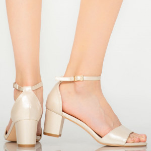 Sandale dama Inez aurii