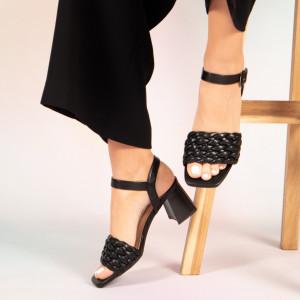 Sandale dama Jam negre