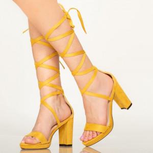 Sandale dama Oba galbene