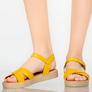 Sandale dama Ones galbene