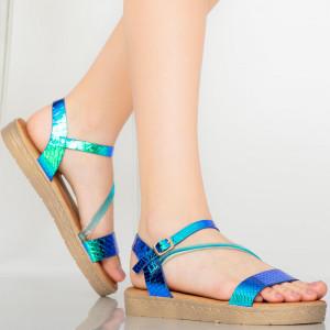 Sandale dama Penit albastre