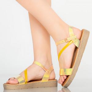 Sandale dama Penit galbene