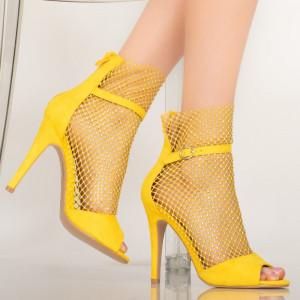 Sandale dama Rice galbene
