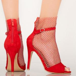 Sandale dama Rice rosii