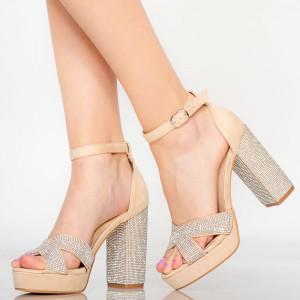 Sandale dama Sofa bej
