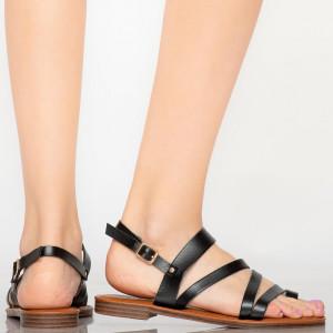 Sandale dama Tily negre