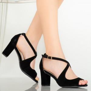 Sandale dama Ursa negre