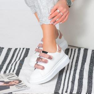 Γυναικεία πάνινα παπούτσια Pila Pink