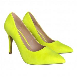 Дамски обувки Попитайте жълто