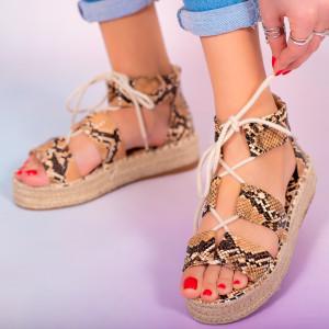Дамски сандали Hevo змия