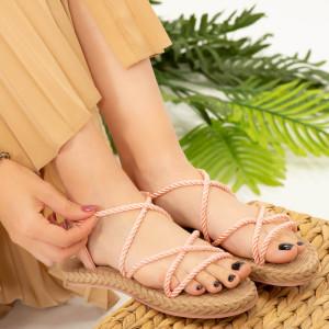 Дамски сандали Nalida розово