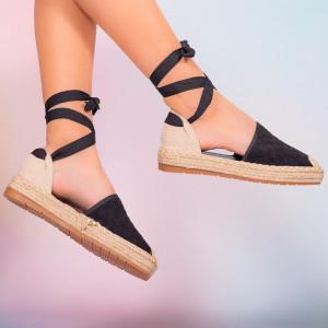 Черни дамски сандали Heri