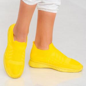 Adidasi κυρία Lany κίτρινο