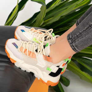 Ailu bézs női tornacipő