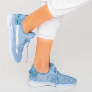 Blue Larry women's sneakers