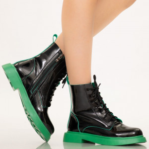 Családi zöld hölgy csizma