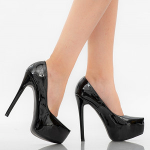 Kayla black lady shoes