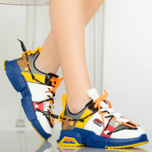 Kék Pudy női tornacipő