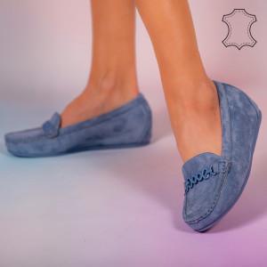 Melle bleu természetes bőr cipő