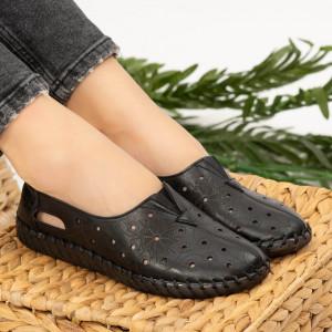 Női cipő Mirar fekete